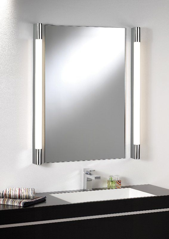 Bathroom Lighting Over Large Mirror bathroom mirror side lights | bathroom - lighting over mirror