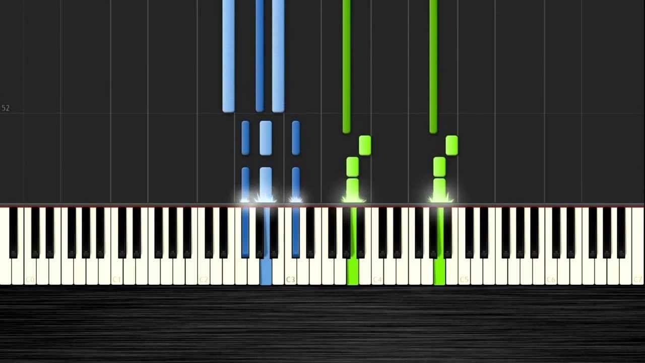 piano man piano tutorial easy