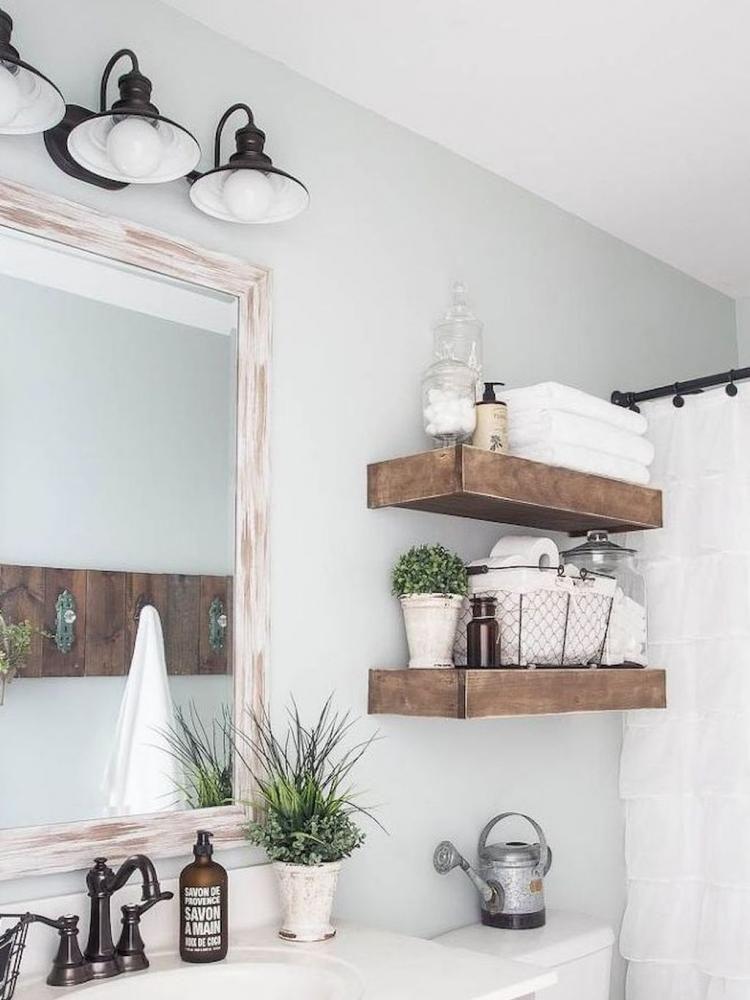 Unusual Farmhouse Bathroom Remodel Decor Ideas Modern Farmhouse