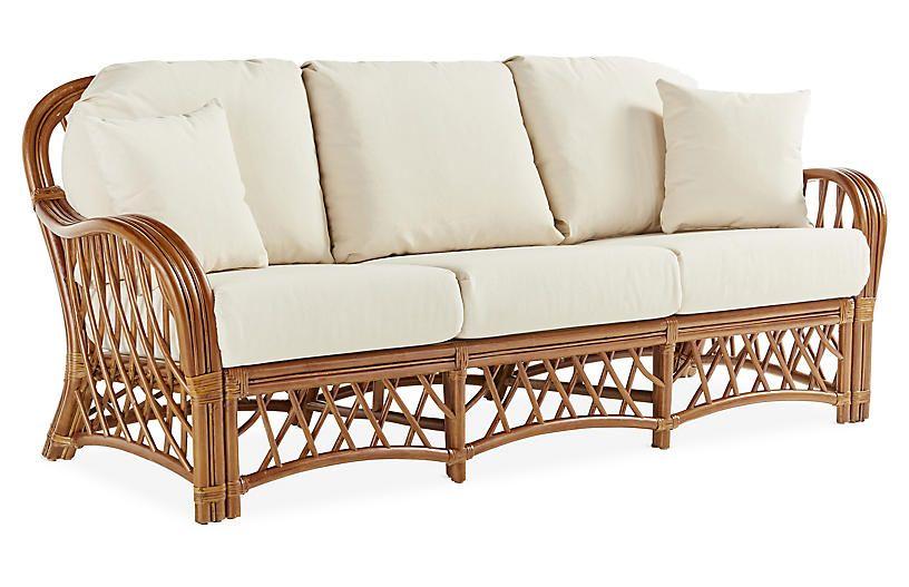 Rattan Furniture in 2020 Rattan sofa, Curvy sofa, Rattan
