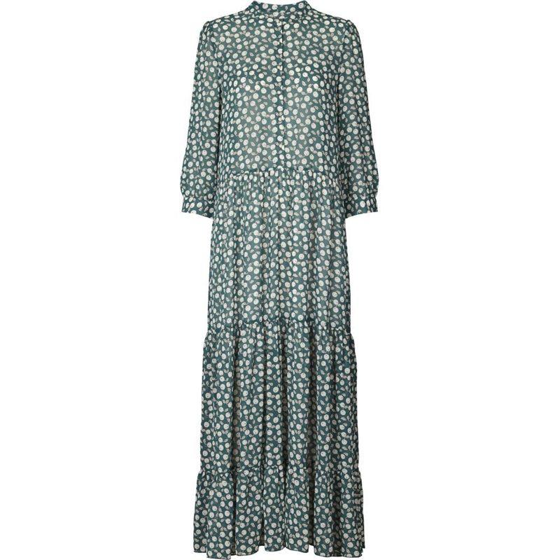 bd9c076f341c Lollys Laundry Nee dress dark green 19160