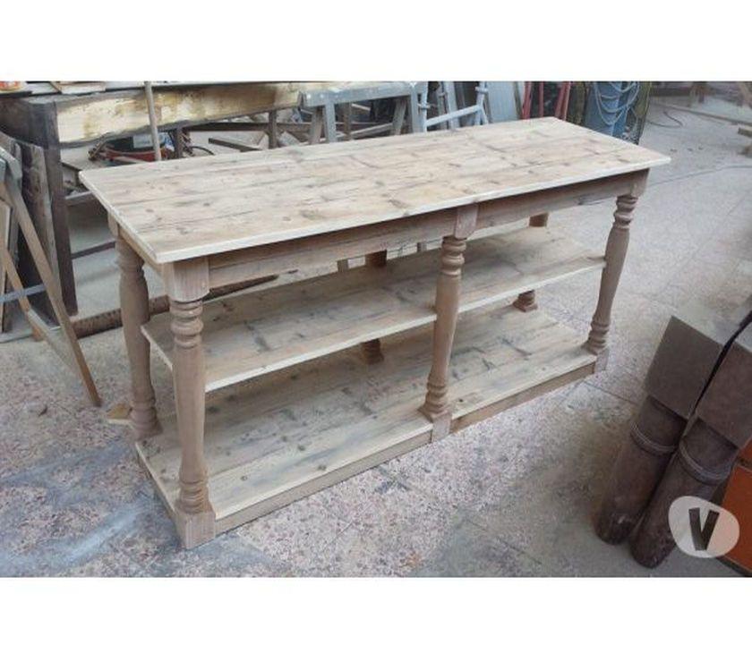 Superbe Table De Drapier En Pin Massif Recycle A Peindre Roanne 42300 Meubles Pas Cher D Occasion Meuble Sale De Bain Drapier Mobilier De Salon