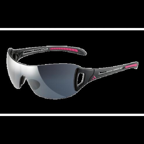 3337002840 Adidas Adilibria Shield S Shiny Black Grey Silver Gradient  140.00 Golf  Sunglasses