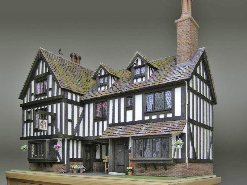 Miniature tudor furniture si vous ne pouvez vous munir for Tudor house