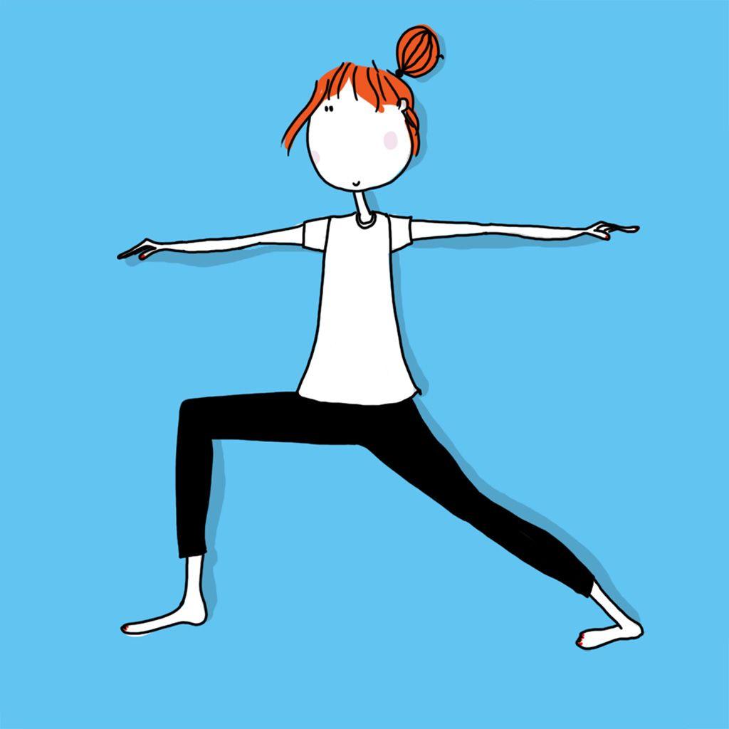 """Résultat de recherche d'images pour """"position yoga guerrier"""""""