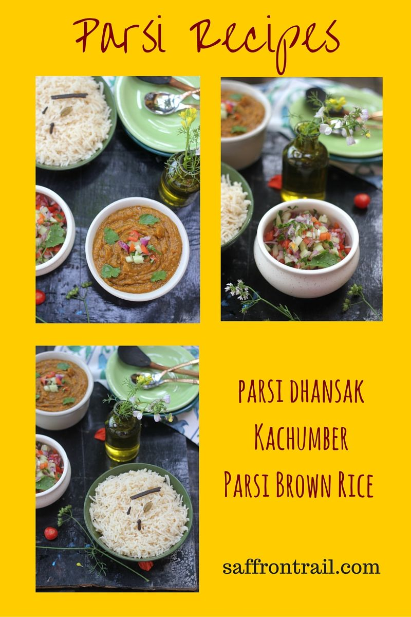 Parsi brown rice recipe brown rice recipes rice recipes and a vegetarian parsi menu fitting a dinner party comprising vegetarian dhansak parsi brown rice and forumfinder Images
