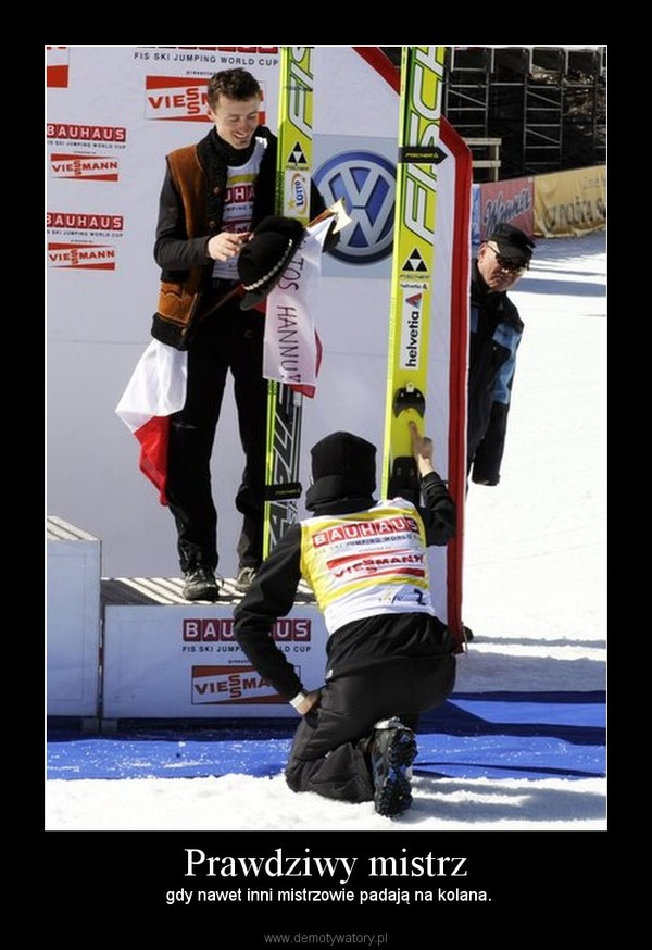 Prawdziwy mistrz! Skoki narciarskie, Śmieszne obrazki