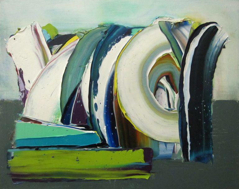 Saatchi Online Artist: André Van Vuuren; Oil, 2012, Painting