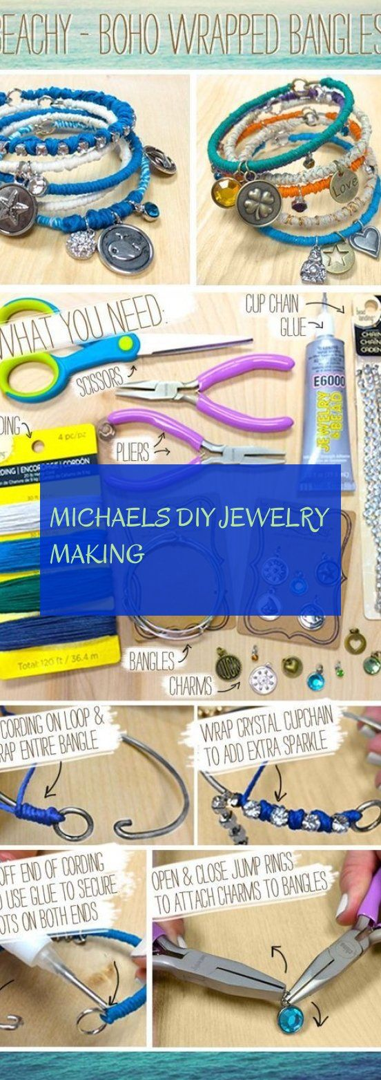 Michaels diy jewelry making