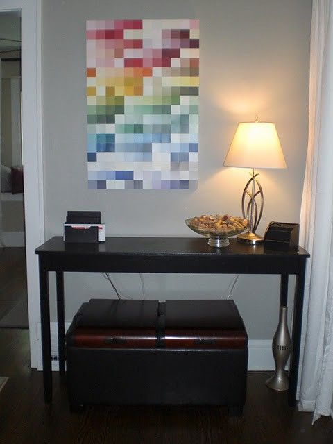 DIY Paint Swatch Projects