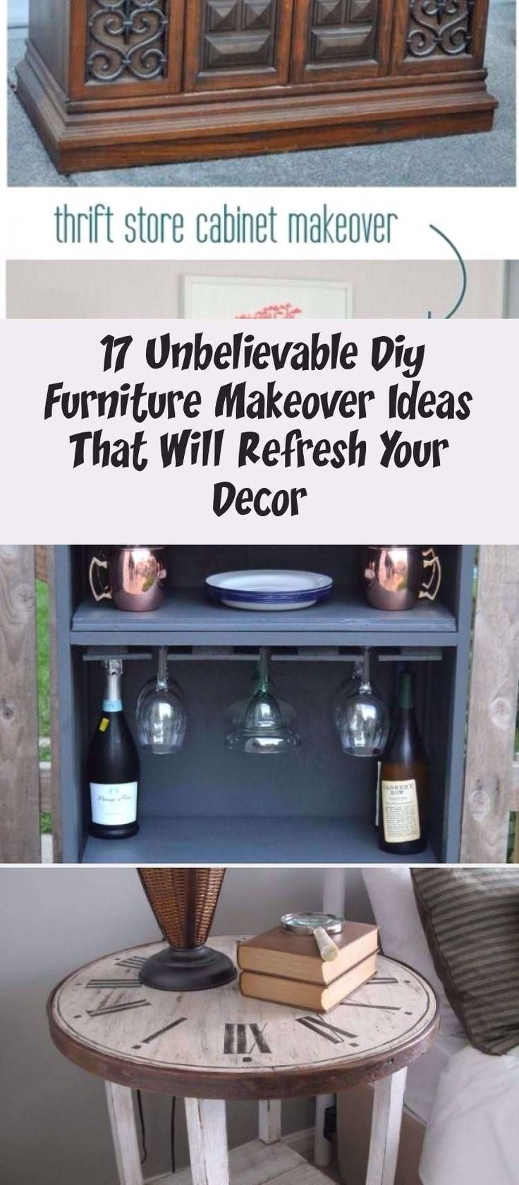 #HomeDecorDIYRecycle #Furniture #Makeover  17 Unbelievable DIY Furniture Makeover Ideas That Will Refresh Your Decor