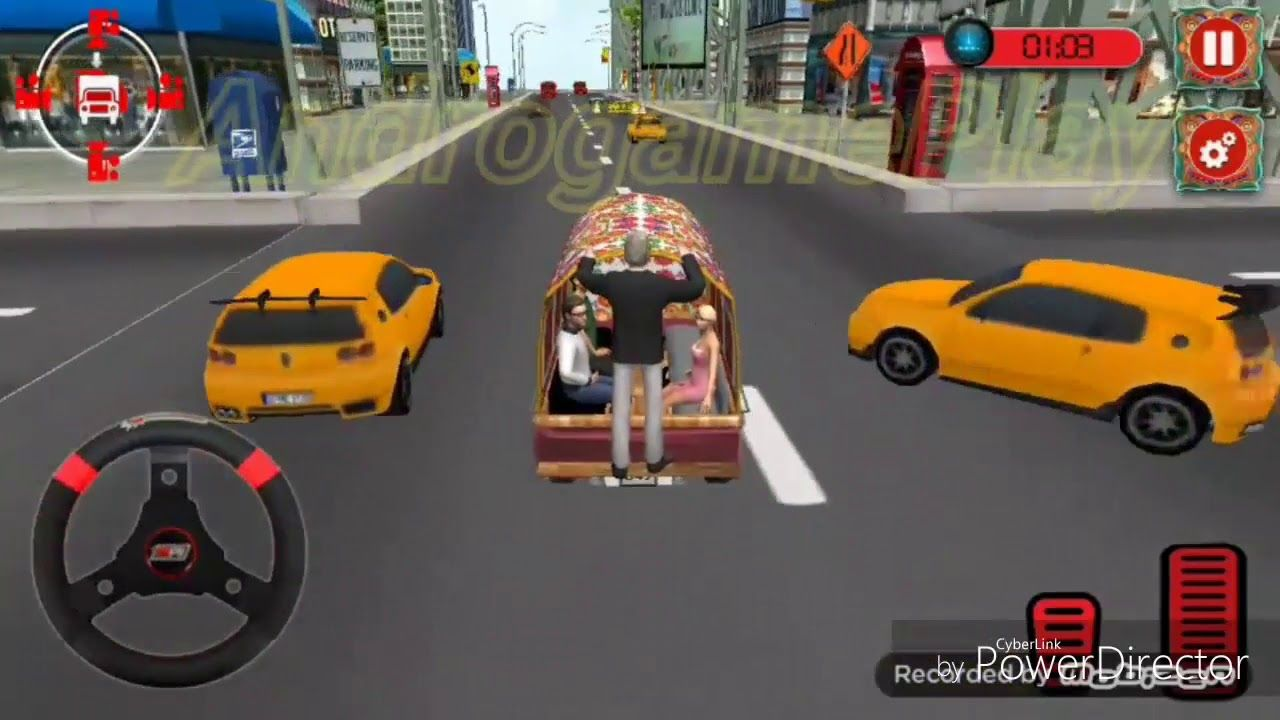 Real Driving Games >> Real Van Driving Games 2018 Public Transport Beautiful Sound In