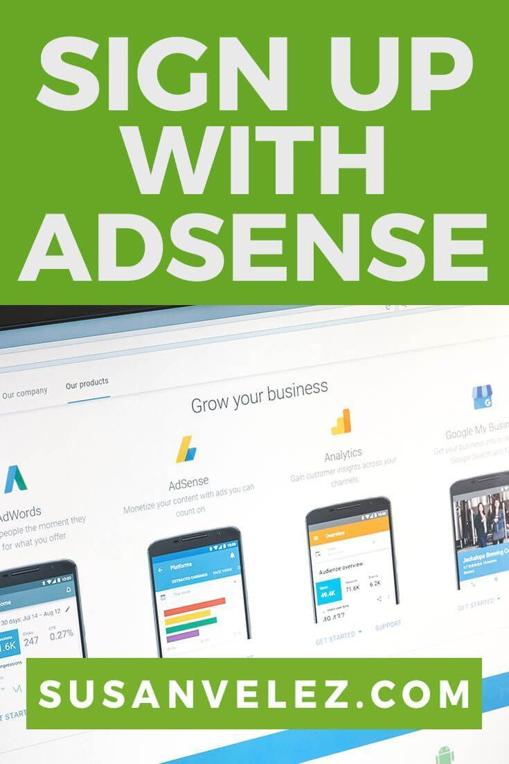 Learn How to Sign Up for Google Adsense | Blogging Tips