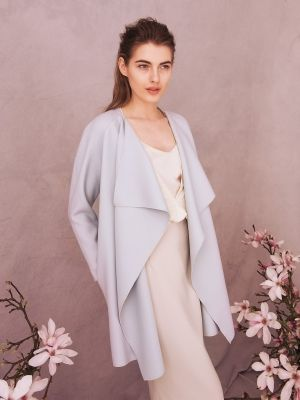 mantel coat ohne verschluss und futter | Sewing for adults ...