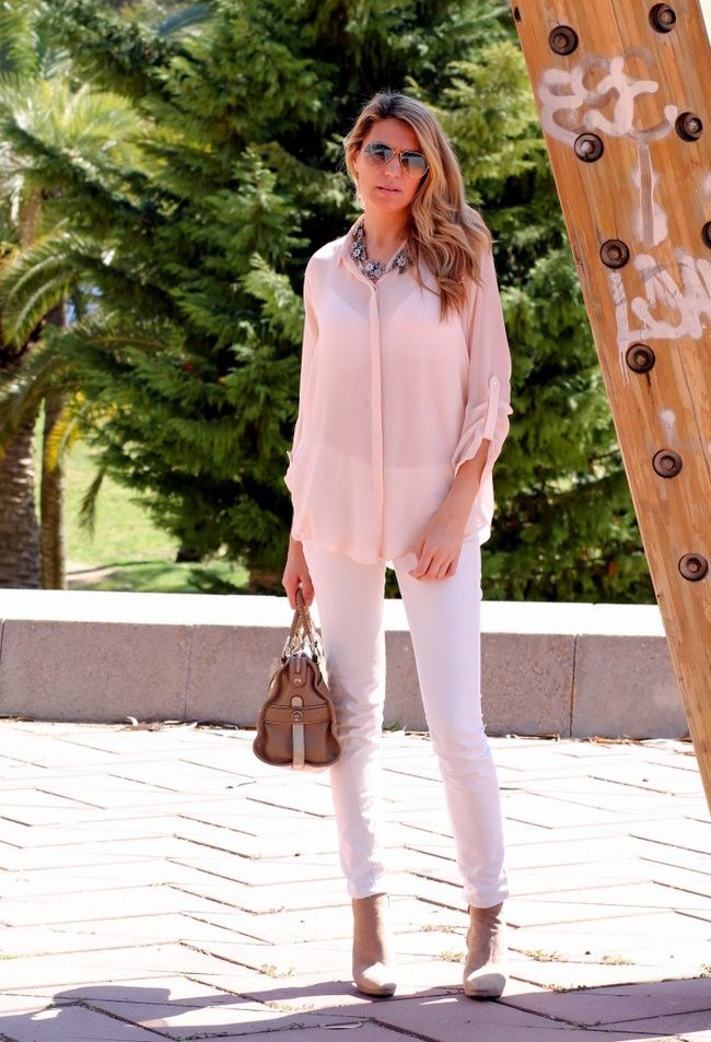 brandi glanville in white jeans and pink tops images - Google ...