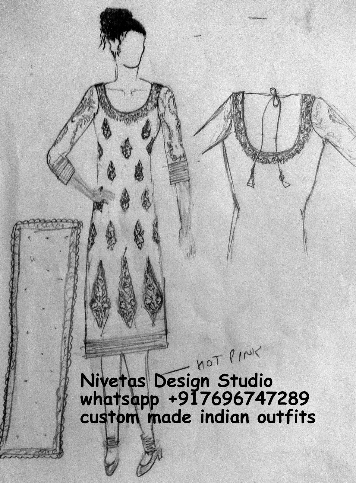 Dress punjabi designing sketches