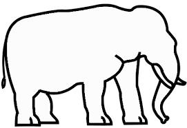 dibujos siluetas de animales | Lindas Siluetas De Animales Para