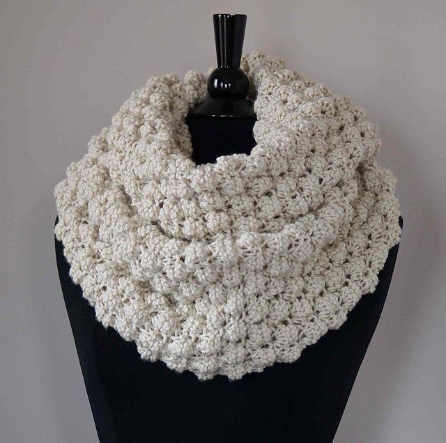 Cowl Snood Infinity Scarf pattern by Irina Z | Knitting ...
