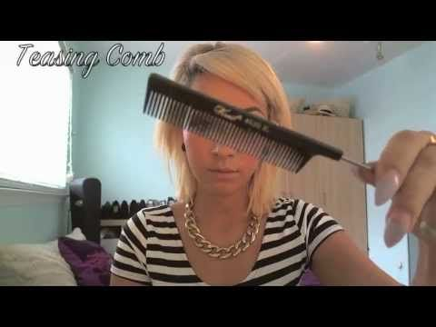 How to: Mohawk updo Hair Tutorial... This made me want to cut my hair!!