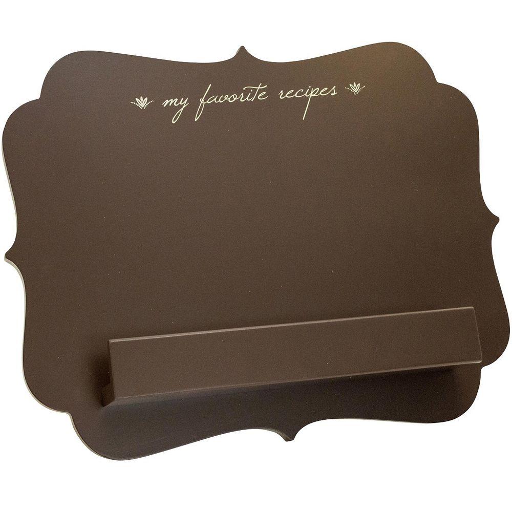 Countertop cookbook shelf a simple yet elegant way to revamp your