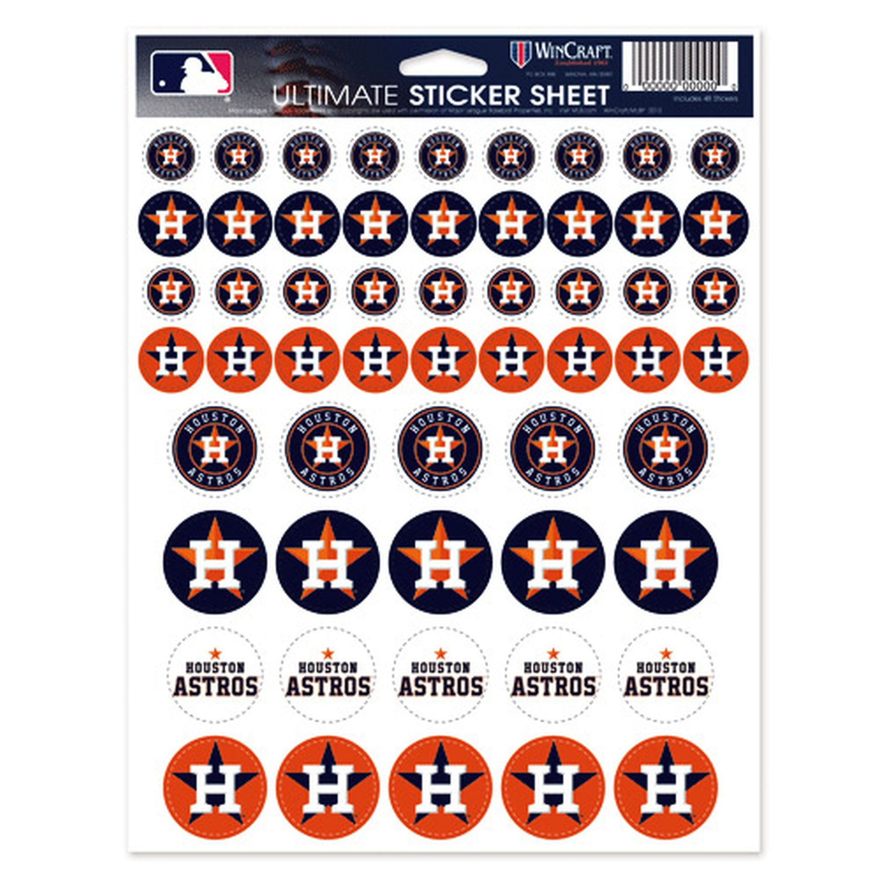Houston Astros 85 X 11