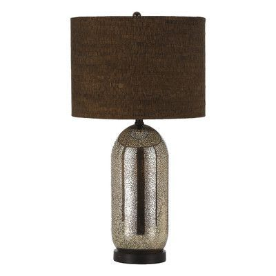 """AF Lighting Kendall 28"""" H Table Lamp with Drum Shade"""