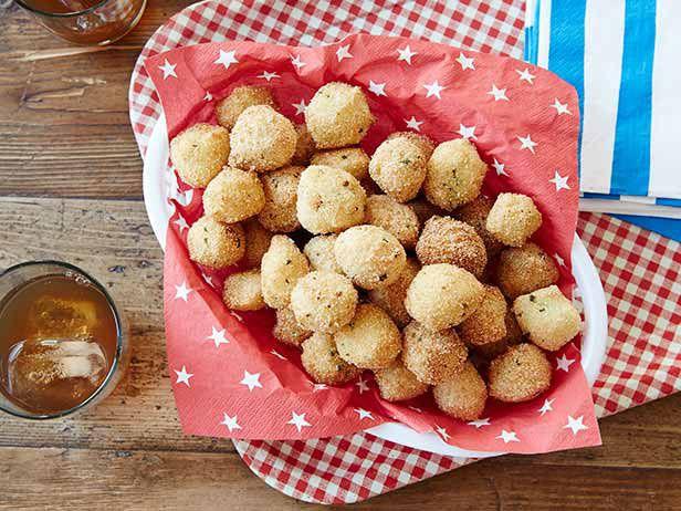 Mama S Cornmeal Hushpuppies Recipe Food Network Recipes Food Food Recipes
