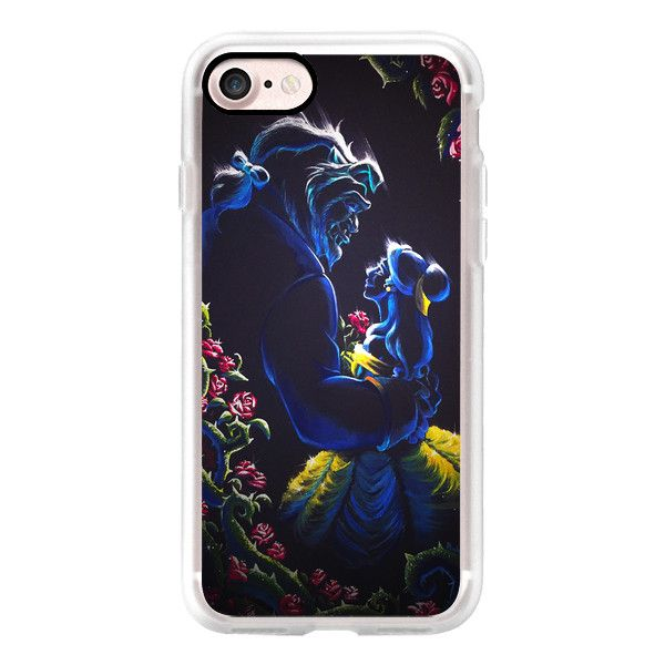 Beauty and the Beast android - iPhone 7 Case, iPhone 7 Plus Case,... ($40) ❤ liked on Polyvore featuring accessories, tech accessories, iphone case, slim iphone case, iphone cover case, iphone cases and apple iphone cases