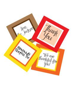 thanksgiving clipart free printable holiday tags place cards or rh pinterest com