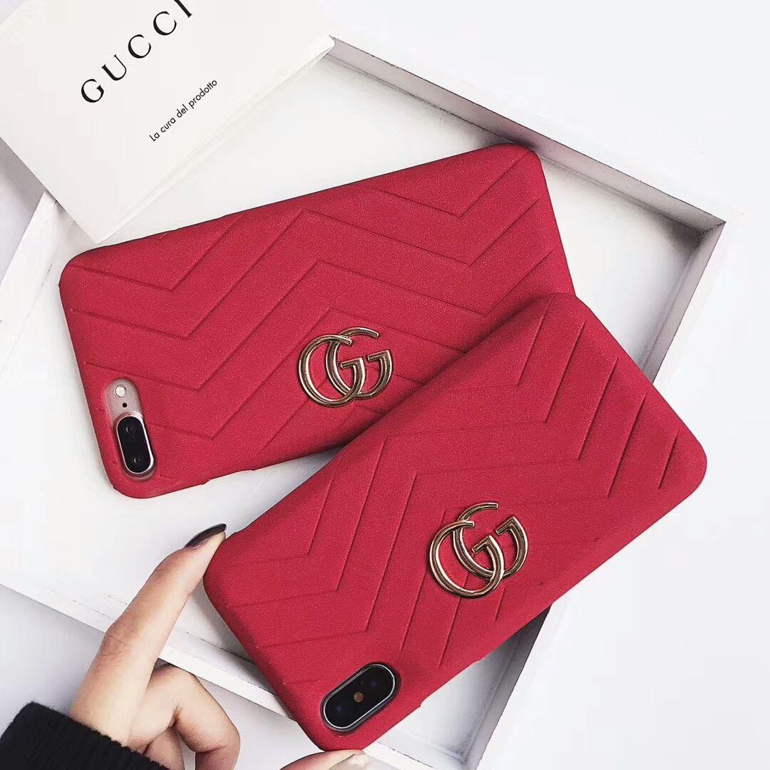9a9452e7 Gucci Case For iPhone 8/7/6/Plus Red | c a s e s | Iphone phone ...