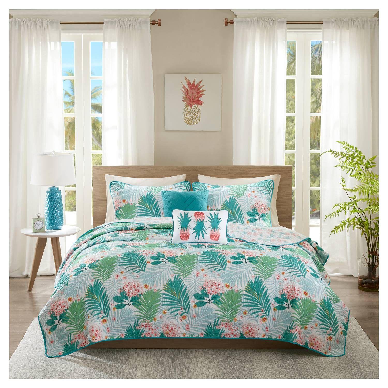 Find Product Information Ratings And Reviews For Sandy Coverlet Set Online On Target Com Comforter Sets Tropical Bedding Sets Bedding Sets