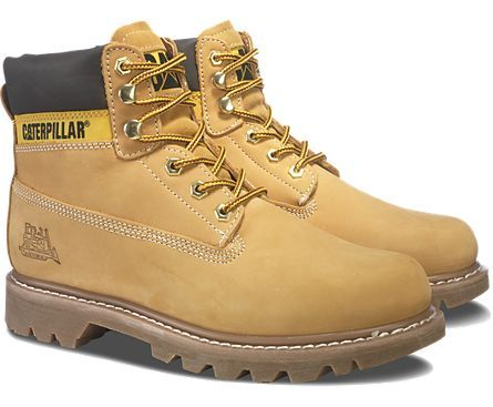 The Cat Colorado boots also come in the classic  honey  color a26193c1c0b