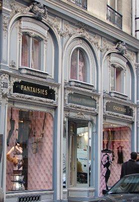 Parisian store front