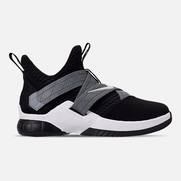 d5c944c09cf5e Right view of Boys' Big Kids' Nike LeBron Soldier 12 SFG Basketball Shoes