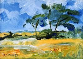 Expressionist Art Landscape Paintings Abstract Landscape Painting Painting