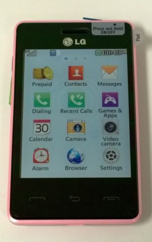 pink lg 840g prepaid phone with triple minutes tracfone 411 rh pinterest com TracFone Promo Codes Amazon TracFone LG 800G