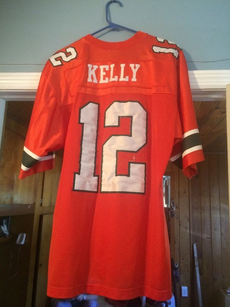 best sneakers 44f9b fdc77 Pin by Glenn Coe on THROWBACK Game Jerseys | Jim kelly ...