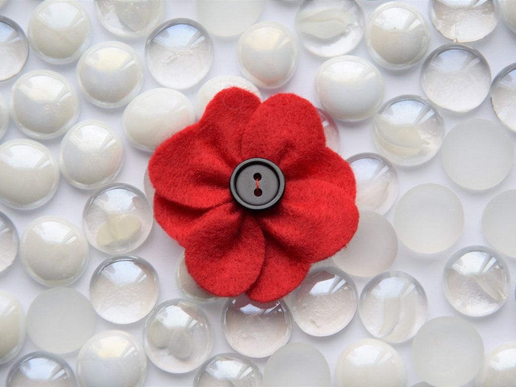 Red Poppy Pin Brooch Jewelry Accessories Lapel Pin Perfect For
