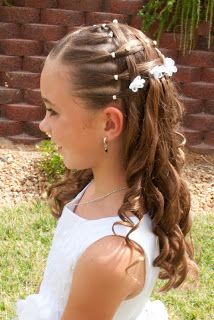 Princess Piggies Baptism Picture Hair Hair Styles In
