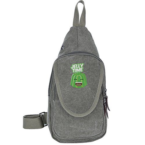 Youtube Jelly Time Sports Unbalance Backpack Sling Bag For Men Canvas Chest  PackHiking Bag   Continue to the product at the image link. 693098aa364aa