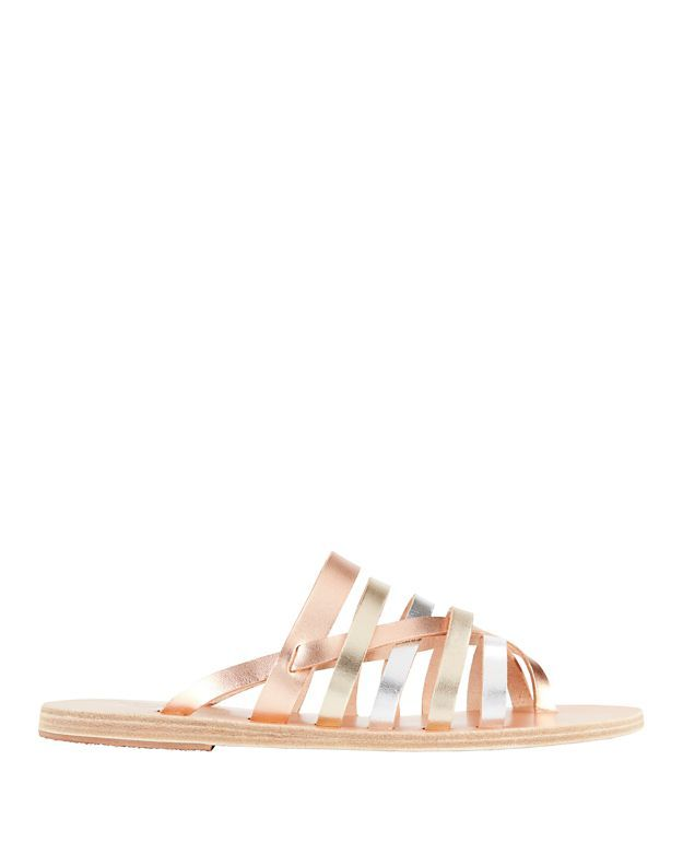 b0cfc33109fe ANCIENT GREEK SANDALS Gaia Two-Tone Metallic Sandals.  ancientgreeksandals   shoes  sandals