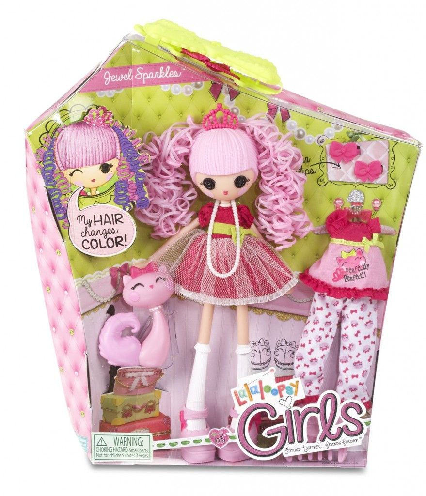 Lalaloopsy girls jewel sparkles christmas wish list for Lalaloopsy jewel sparkle coloring pages