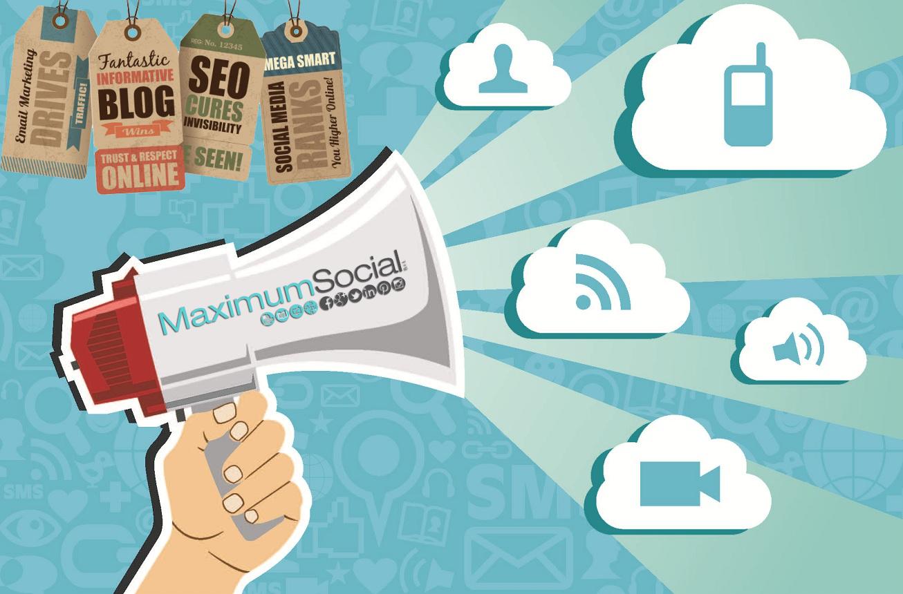 Maximum Social Srl studia strategie mirate di #marketing on line a livello internazionale. Ottimizziamo professionalmente campagne promozionali sui motori di ricerca e #SocialNetwork. Affida a noi la tua gestione Social! www.maximumsocial.it #MaximumSocial #SocialMediaMarketing #SocialMediaManager #WebMarketing #Web #Marketing #StrategieWeb #MarketingOnline #Pubblicità #FaiConoscereLaTuaAzienda