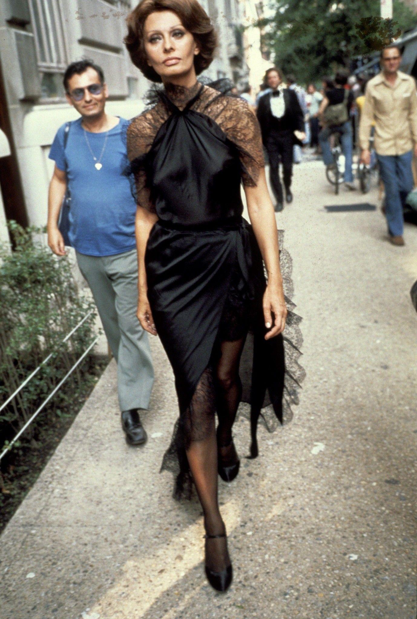 Икона стиля — Софи Лорен