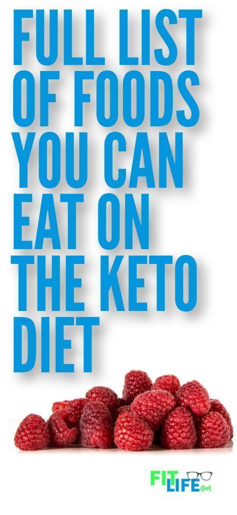 Check Out This Big List Of Ketogenic Friendly Foods