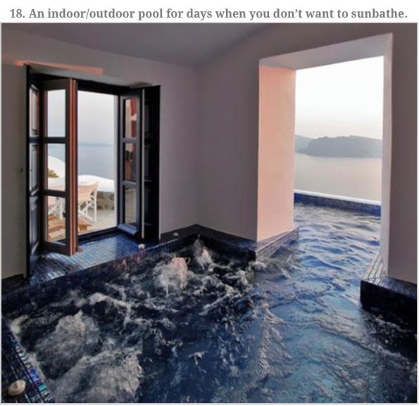 Half Inside Half Outside Pool Dream House Hot Tub Room Indoor Outdoor Pool