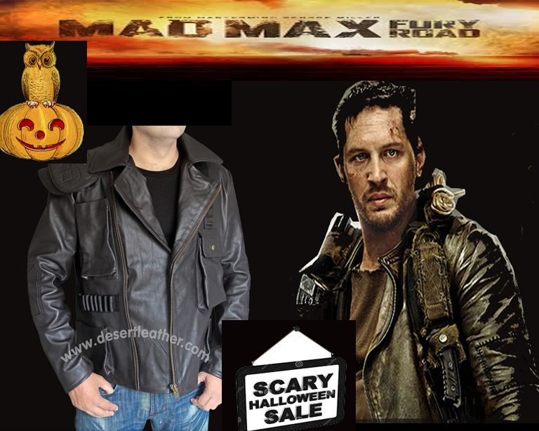 41eb58431 Tom Hardy Mad Max Fury Road Leather Jacket For the daring men who ...
