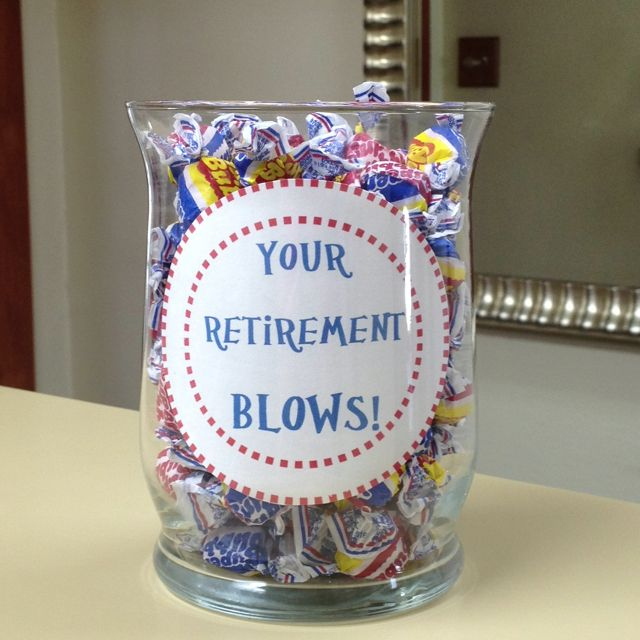 Retirement gift | camp | Pinterest | Retirement, Gift and ...