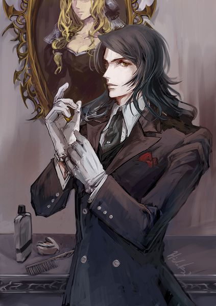 Genya Arikado Google Search Vampire Art Gothic Anime Vampire