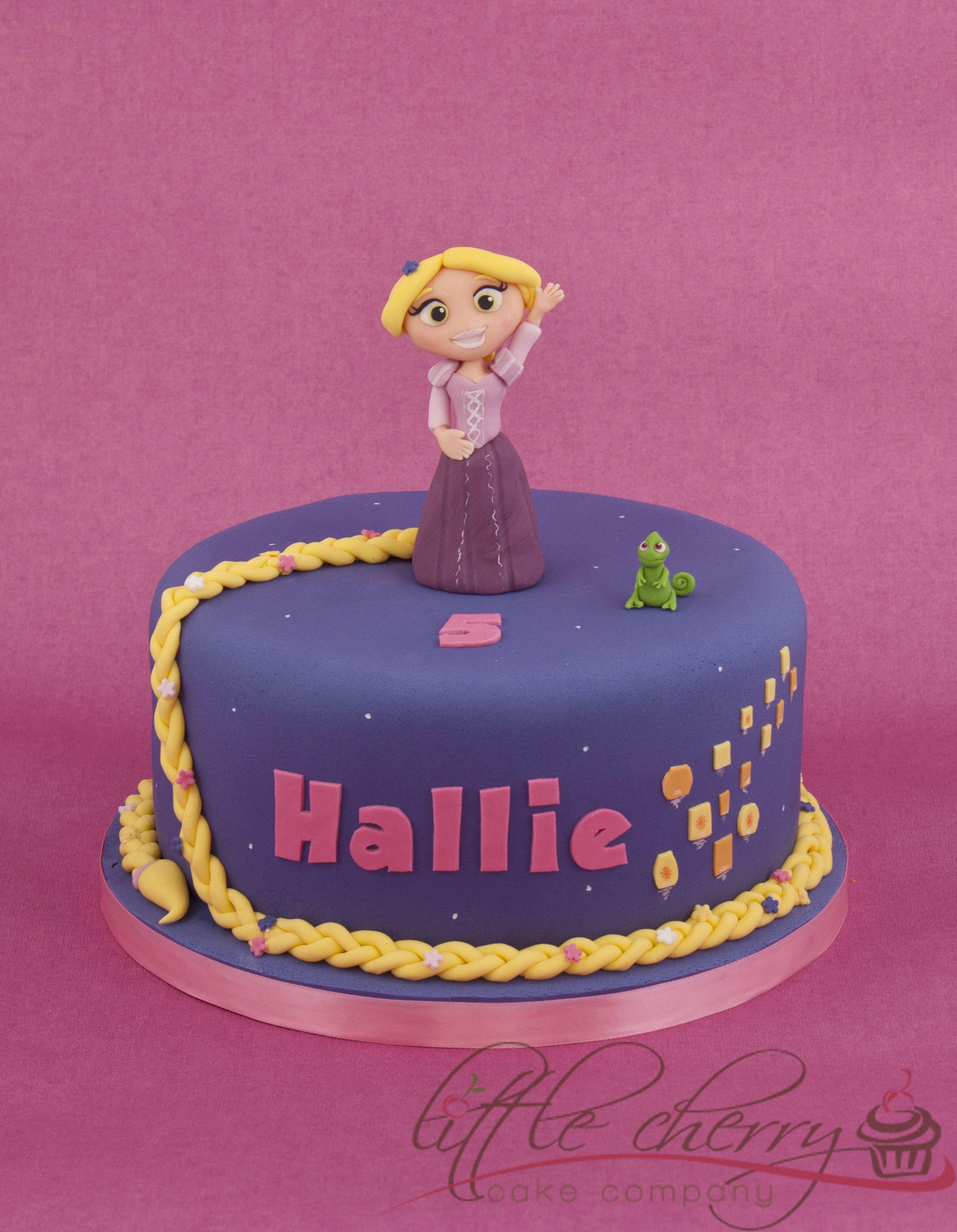 Princess Rapunzel Cake Cakes Princess Rapunzel Pinterest